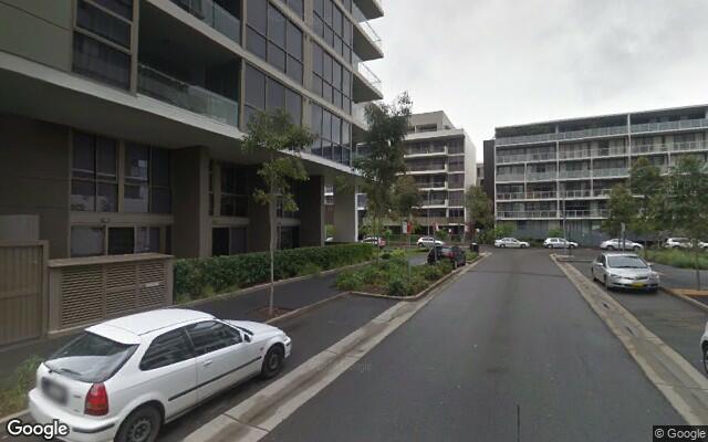 parking on Kirby Walk in Zetland NSW