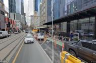 parking on La Trobe Street in Melbourne Victoria