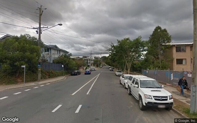 parking on Lambert Road in Indooroopilly Queensland