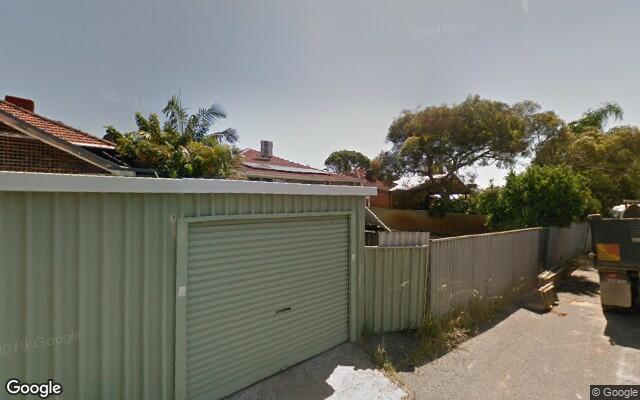 parking on Lawler Street in North Perth WA