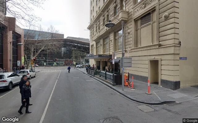 parking on Little Collins Street in Melbourne