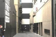 parking on Little Collins Street in Melbourne