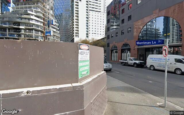 parking on Little Lonsdale St in Melbourne