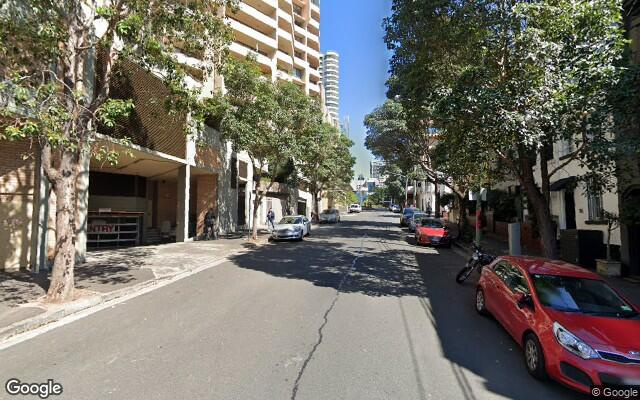 parking on Liverpool Street in Darlinghurst New South Wales