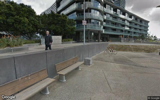 parking on Lorimer Street in Docklands
