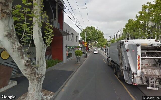 parking on Malvern Road in South Yarra