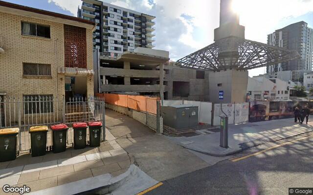 parking on Manning Street in South Brisbane Queensland