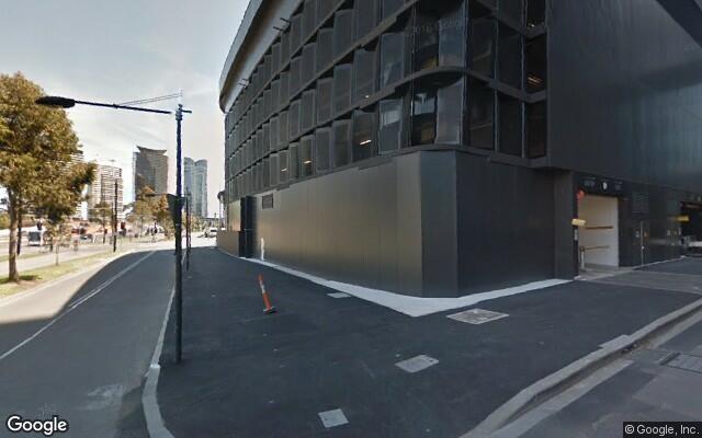 parking on McCrae St in Docklands