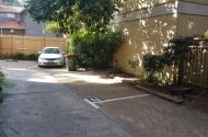 parking on McDougall Street in Kirribilli NSW
