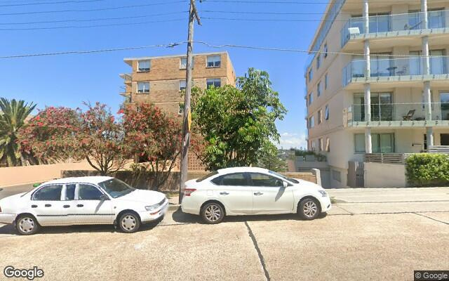 parking on Military Rd in North Bondi