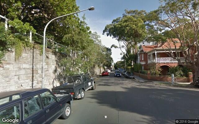 parking on Mitchell Road in Darling Point
