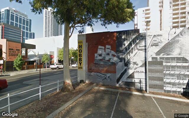 parking on Murray Street in Perth Western Australia