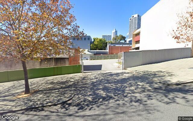 parking on Murray Street in West Perth Western Australia
