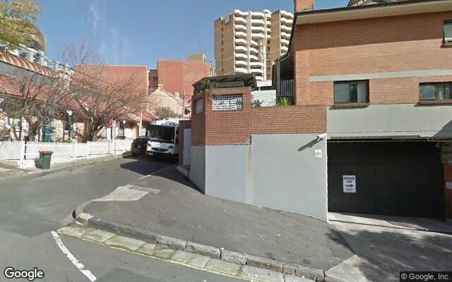 parking on Norman Street in Darlinghurst NSW
