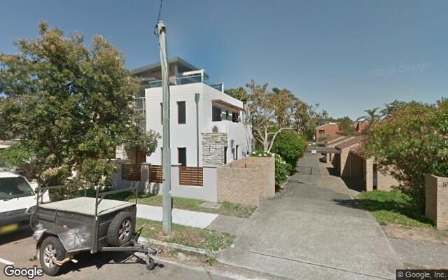 parking on Ocean Street in Narrabeen NSW