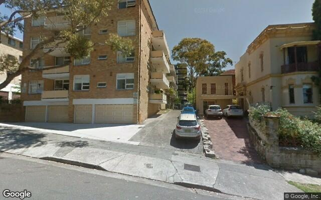 parking on Ocean Street North in Bondi NSW