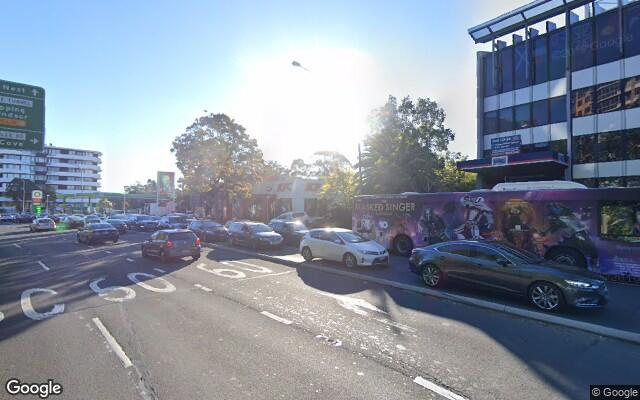 parking on Pacific Highway in Lane Cove North New South Wales