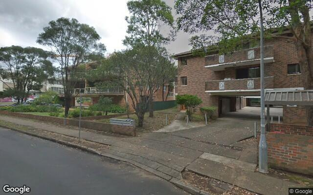 parking on Park Avenue in Westmead New South Wales