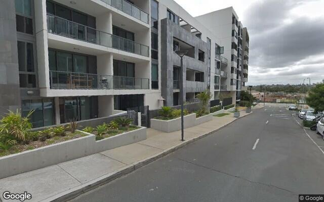 parking on Park Street North in Wentworth Point New South Wales