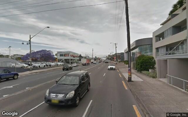 parking on Parramatta Road in Concord NSW