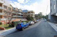 parking on Parramatta Road in Homebush New South Wales