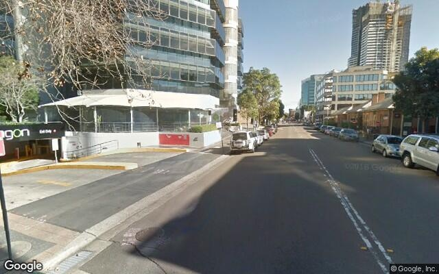 parking on Phillip Street in Parramatta