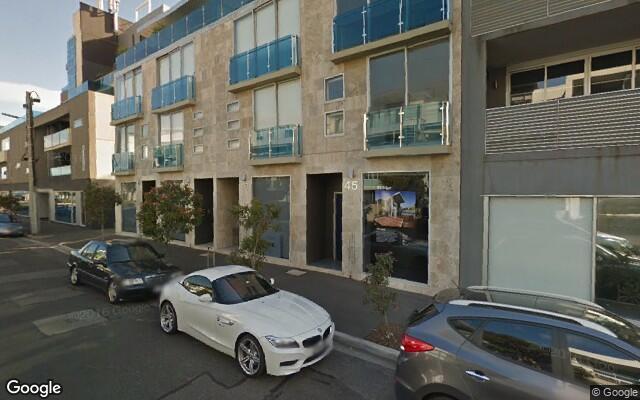 parking on Pickles Street in Port Melbourne