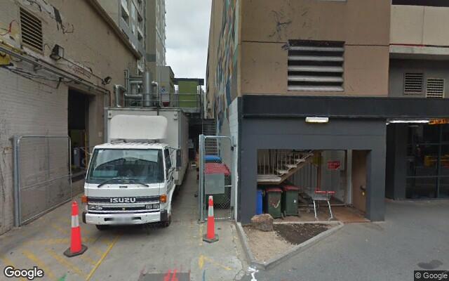 parking on Pitt Street in Adelaide South Australia