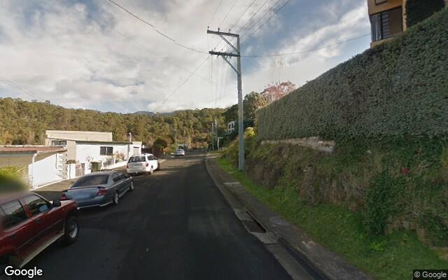 parking on Poets Road in West Hobart TAS