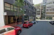 parking on Poplar Street in Surry Hills New South Wales