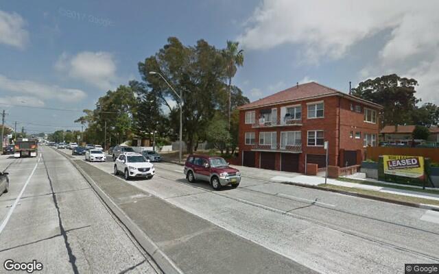parking on Princes Hwy in Kogarah NSW 2217