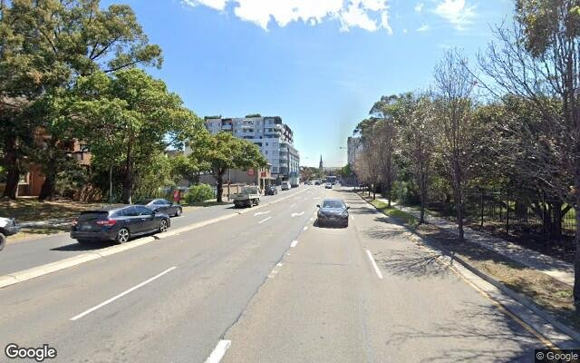 parking on Ross Street in North Parramatta New South Wales
