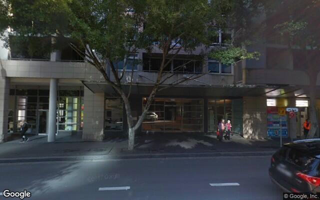 parking on Shelley Street in Sydney NSW