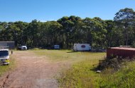 parking on Smiths Road in Somersby NSW