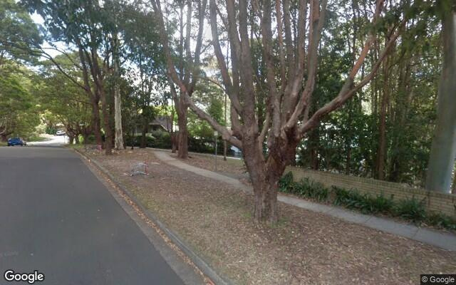 parking on Stokes Street in Lane Cove North