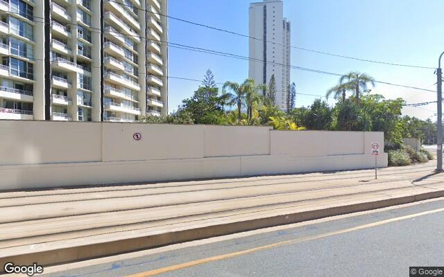 parking on Surfers Paradise Boulevarde in Surfers Paradise Queensland