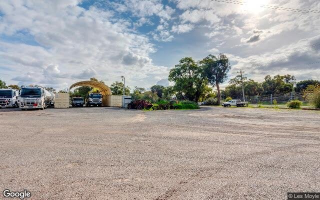 parking on Talbot Road in Hazelmere WA