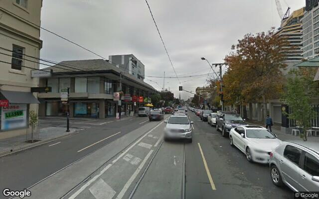 parking on Toorak Rd in South Yarra