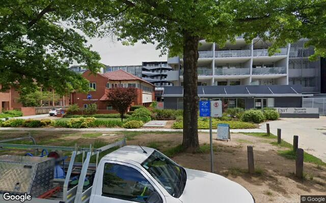 Convenient parking near Canberra CBD.