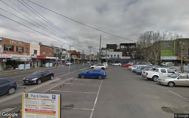 parking on Victoria St in Abbotsford