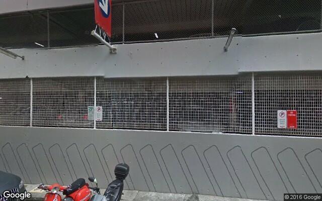 parking on Ward St in North Sydney