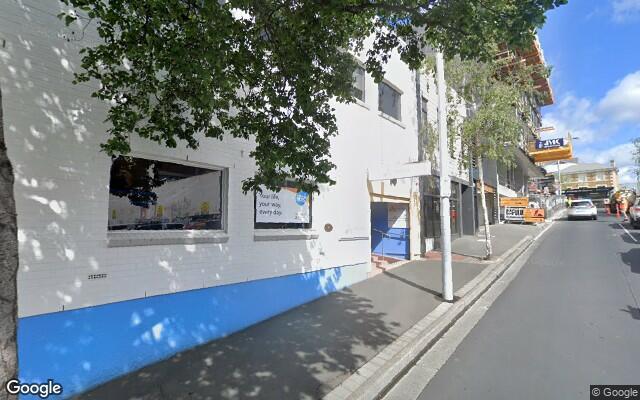 parking on Watchorn Street in Hobart Tasmania