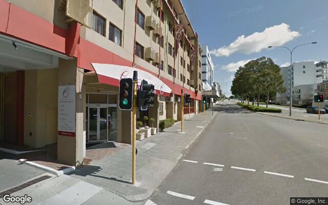 parking on Wellington Street in West Perth Western Australia