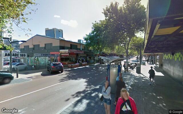 parking on William Street in Northbridge Western Australia