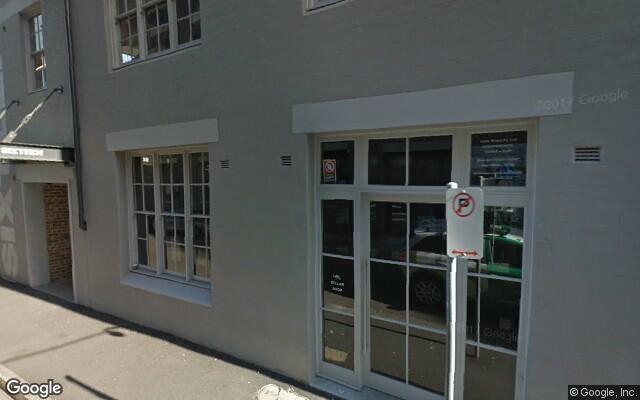 parking on Woodburn Street in Redfern