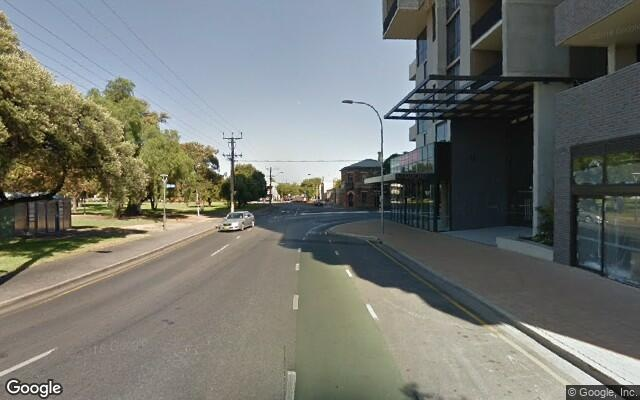 parking on Wright Street in Adelaide SA