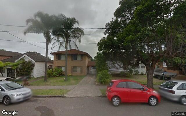 parking on Ann Street in Lidcombe NSW