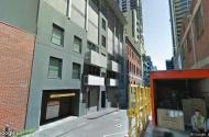 parking on Little Bourke Street in Melbourne