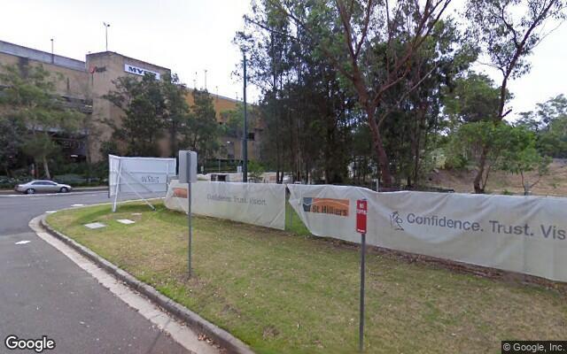 parking on Alma Road in Macquarie Park