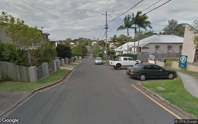 parking on Picot Street in Kelvin Grove
